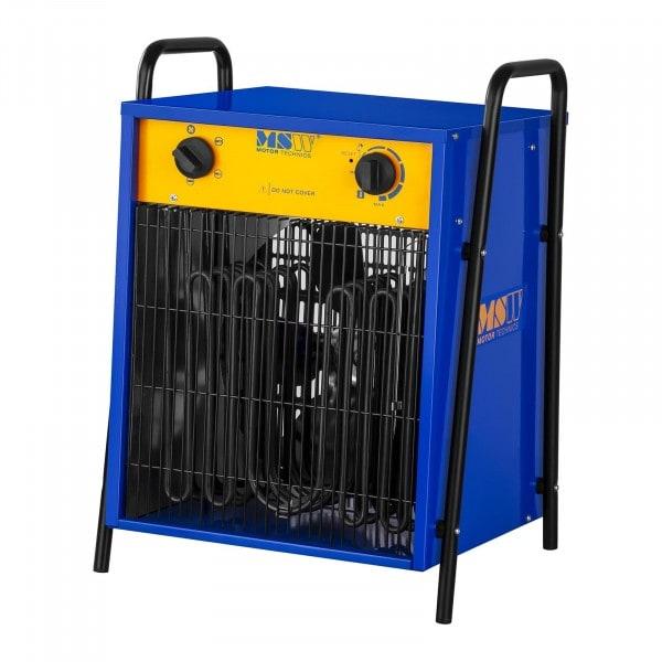 B-WARE Elektrické topidlo s ventilátorem - 0 až 40 °C - 15 000 W