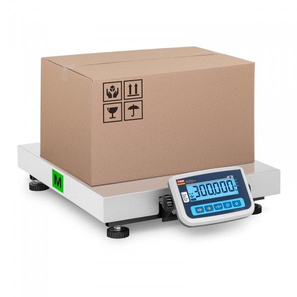 B-zboží Balíková váha - cejchovaná - 300 kg / 100 g - plocha 60 x 50 cm