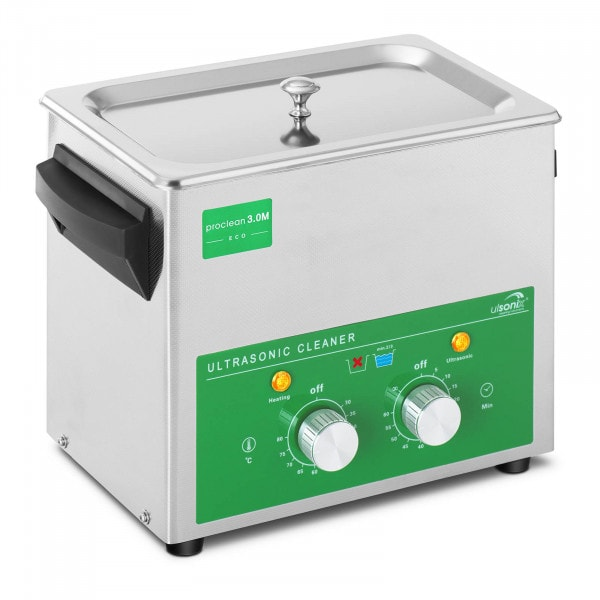 Ultrazvuková čistička - 3 litry - 80 W - Basic Eco