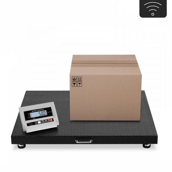 Podlahová váha - 3 t / 1 kg - bezdrátová