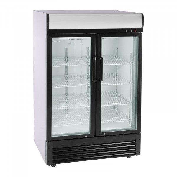 Prosklená chladnička na nápoje - 880 l