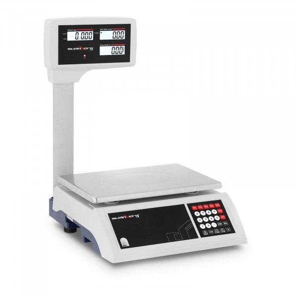 B-zboží Kontrolní váha - 30 kg / 5 g - vysoký LCD displej