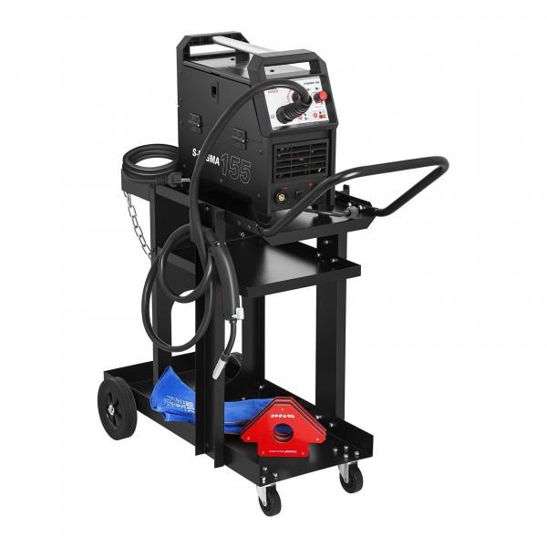 Svářečský vozík - plochý - 3 odkládací plochy - 75 kg
