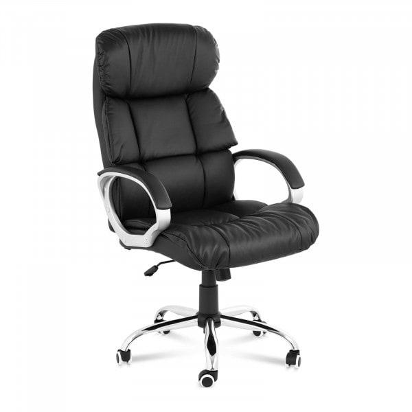 B-zboží Kancelářská židle - 180 kg - černá