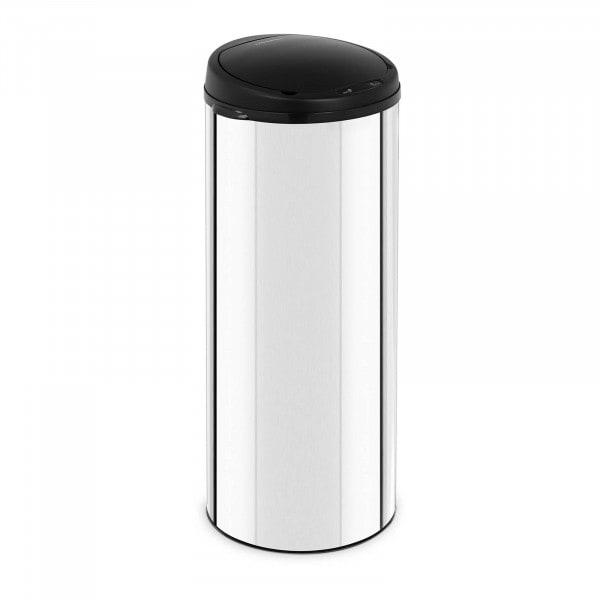 B-zboží Bezdotykový odpadkový koš - 50 l - galvanizovaná ocel