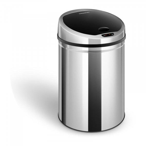 Bezdotykový odpadkový koš - 30 l - kulatý - s vnitřním vědrem