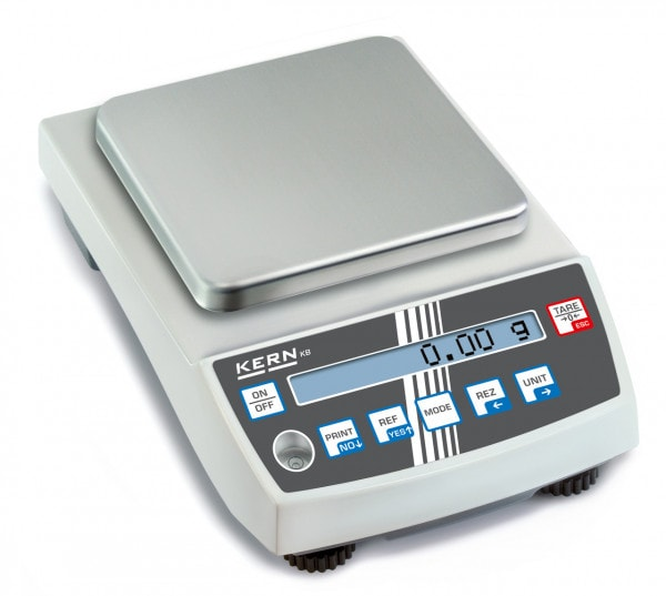 KERN přesná váha - 2.000 g / 0,01 g