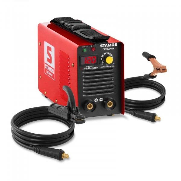 Elektrodová svářečka-A 120-Hot Start-LED displej