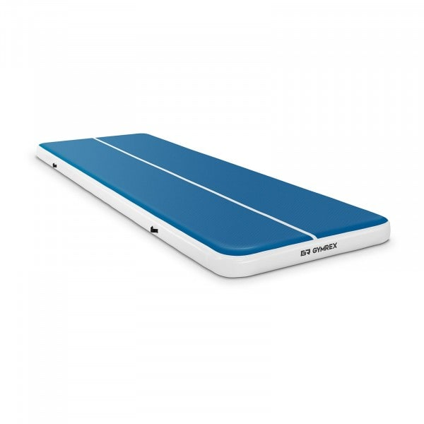 B-zboží Nafukovací žíněnka - 600 x 200 x 20 cm - 400 kg - modrá/bílá