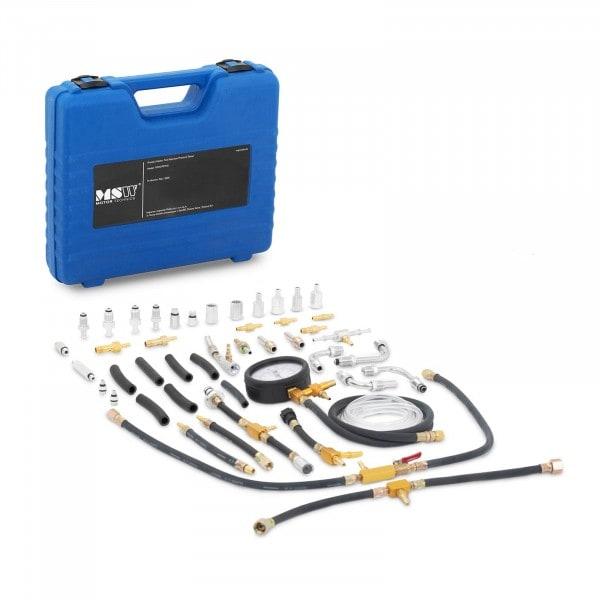 B-zboží Tester tlaku paliva v benzínových motorech - 0 až 7 bar - 30 dílů