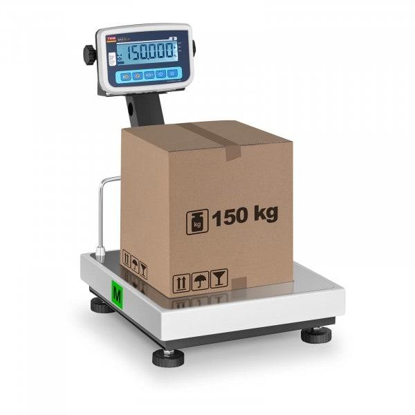 Plošinová váha- cejchovatelná - 150 kg/50 g