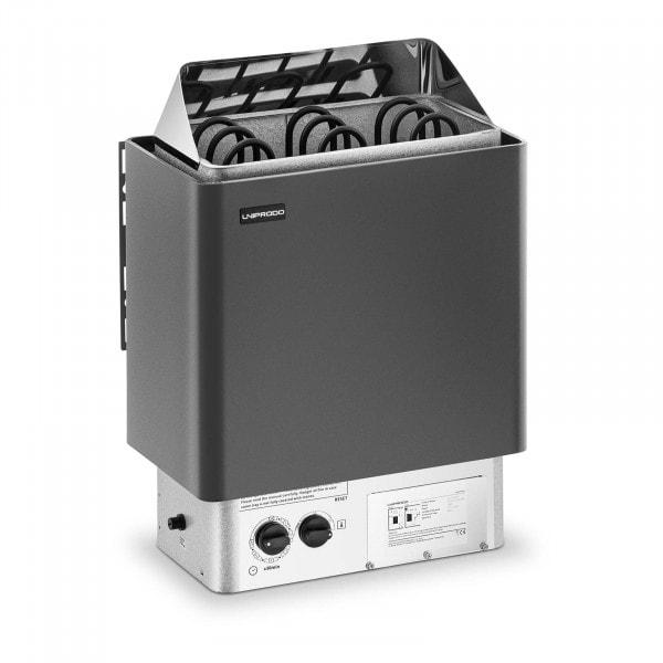 B-zboží Saunová kamna - 4,5 kW - 30 až 110 °C - s integrovaným ovládáním
