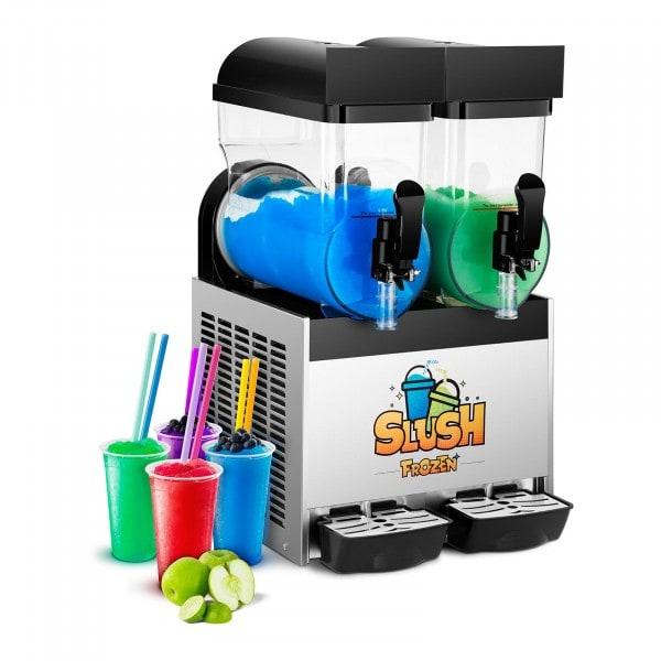 Výrobník ledové tříště - 2 x 15 litrů