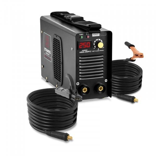 B-zboží Elektrodová svářečka-250 A-kabel 8m-Hot Start-PRO