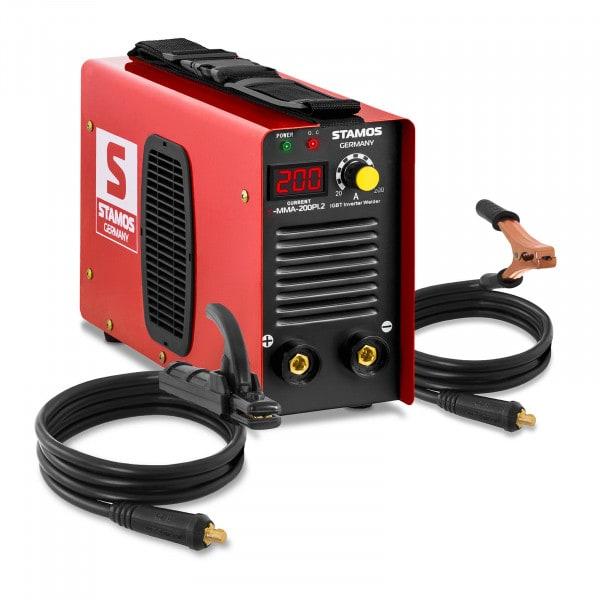 Elektrodová svářečka - 200 A - Hot Start - LED displej