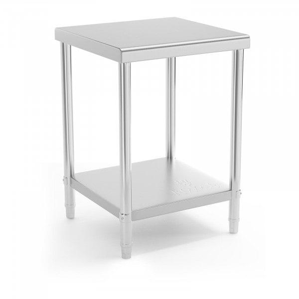 B-zboží Nerezový stůl - 60 x 60 cm - nosnost 150 kg