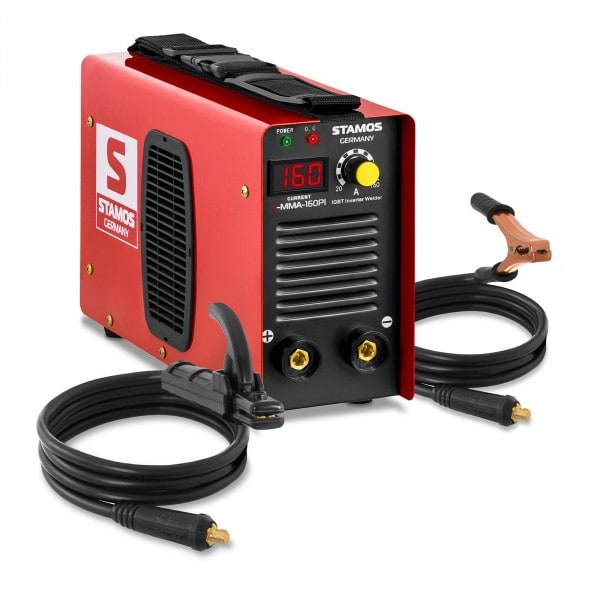 Elektrodová svářečka-160 A-Hot Start-LED displej