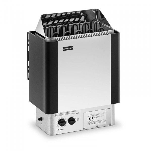 B-zboží Saunová kamna - 9 kW - 30 až 110 °C - se zabudovaným ovládáním