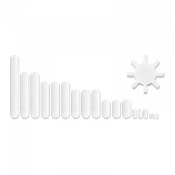 Magnetická míchadélka souprava - 19-dílná