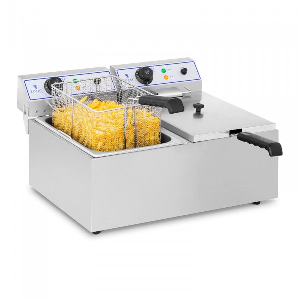 Elektrická fritéza - 2 x 17 L