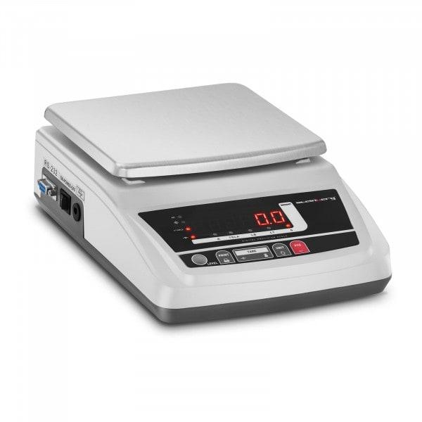 B-zboží Přesná váha - 0,05 - 6 000 g / 0,01 g - ochranný kryt
