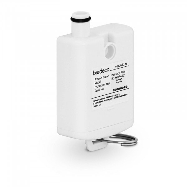 Jemný filtr pro dávkovač horké vody