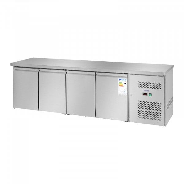 Chladicí stůl - 450 l - 4 dveře