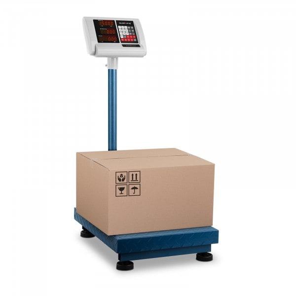 B-zboží Plošinová váha - 150 kg / 10 g - 40 x 50 cm - skládací