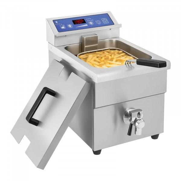Indukční fritéza - 1x10 litrů - 60 až 190 °C