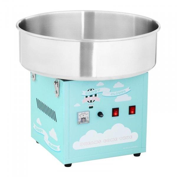 Stroj na cukrovou vatu - 52 cm - 1 200 W - tyrkysový