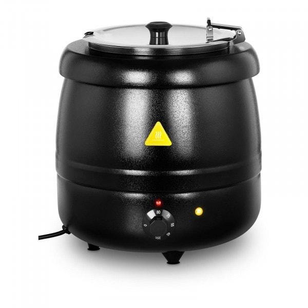 Kotlík na polévku - 10 litrů - 400 W - černý