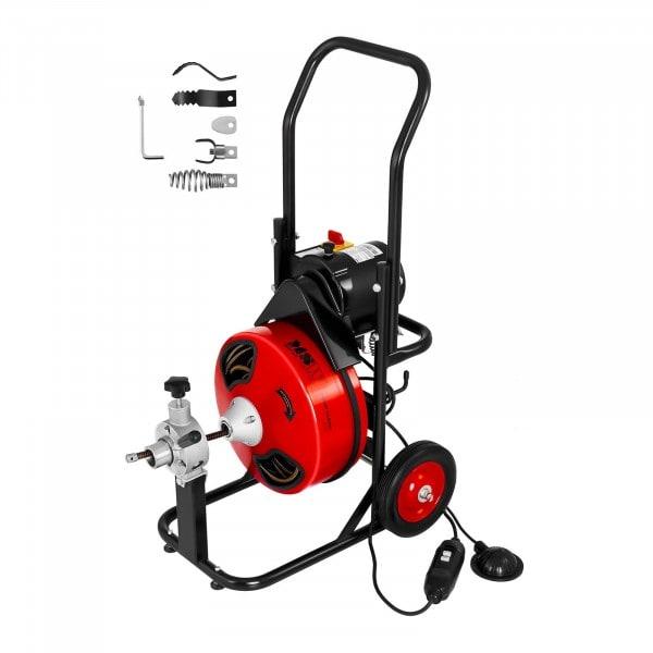 Bubnový stroj na čištění odpadů 390 W na Ø 25 až 125 mm
