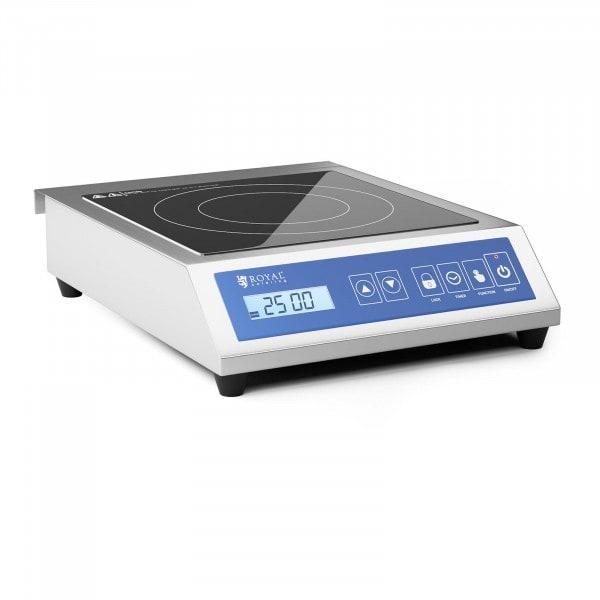 B-zboží Indukční vařič - 28 cm - 60 až 240 °C - dotykový displej - časovač