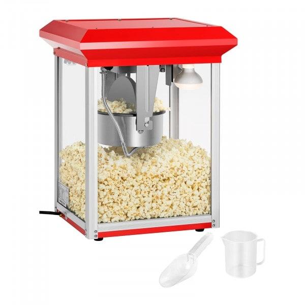 Stroj na popcorn - červený - 8 oz