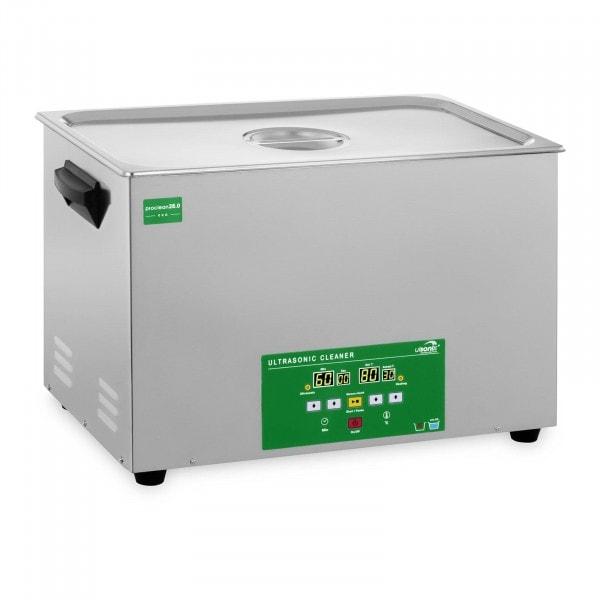 Ultrazvuková čistička - 28 litrů - 480 W - Memory Quick Eco
