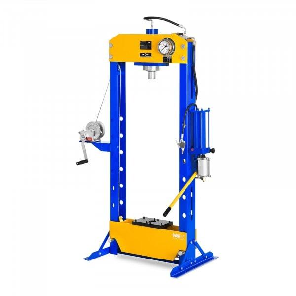 Dílenský lis hydropneumatický- 50 tun lisovací tlak
