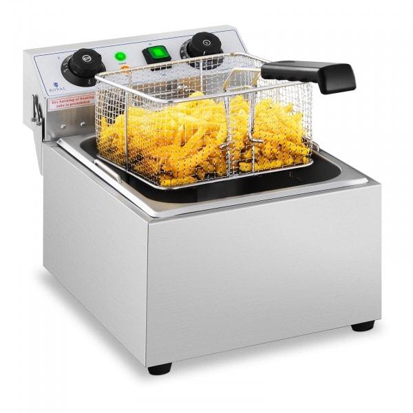 Elektrická fritéza - 10 litrů - časovač - 230 V
