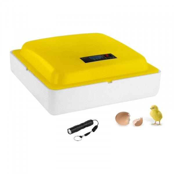 B-WARE Umělá líheň - 88 vajec - včetně prosvěcovačky vajec