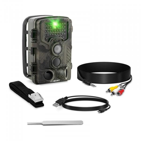B-zboží Fotopast - 8 MP - Full HD - 42 infračervených LED diod - 20 m - 0,3 s - LTE