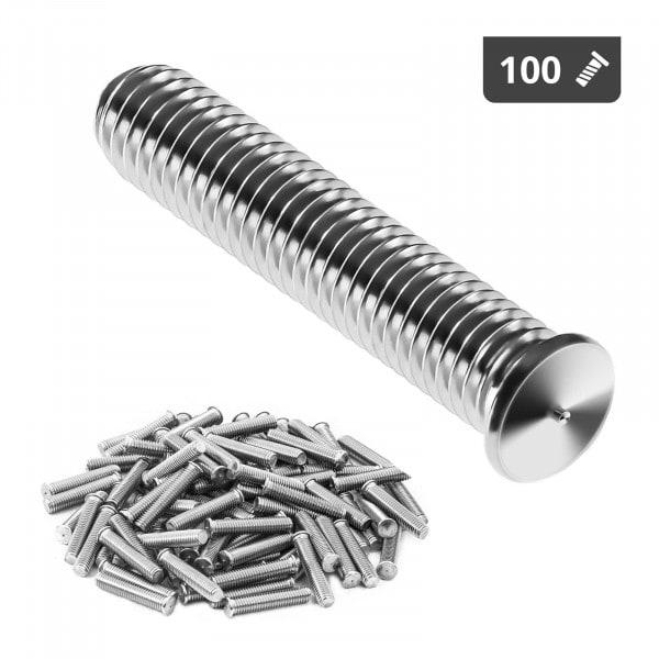 Navařovací šrouby-M5-25mm-ušlechtilá ocel-100 kusů