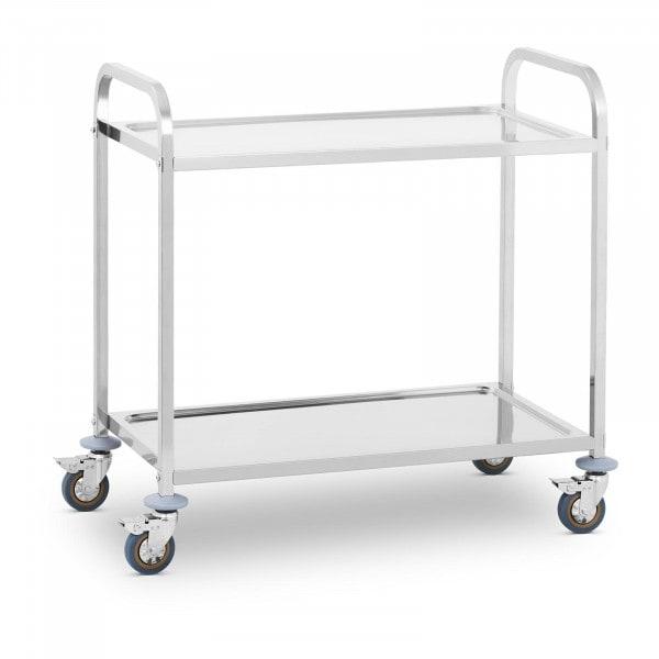 B-zboží Servírovací vozík - 2 police - do 160 kg