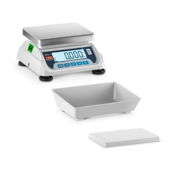 B-zboží Stolní váha - cejchovaná - 3 kg / 1 g - LCD displej