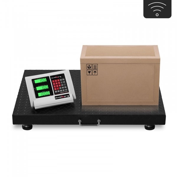 B-zboží Podlahová váha - 1.000 kg / 200 g - bezdrátová