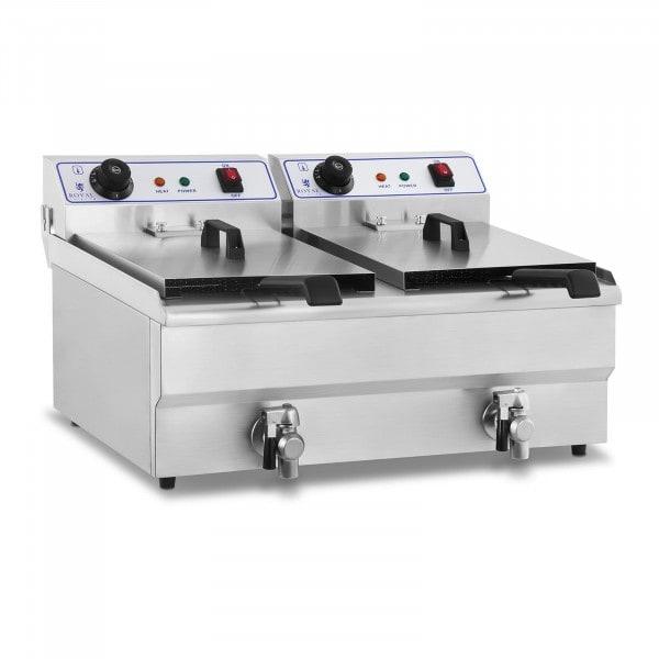 Elektrická fritéza - 2 x 16 l - 230 V
