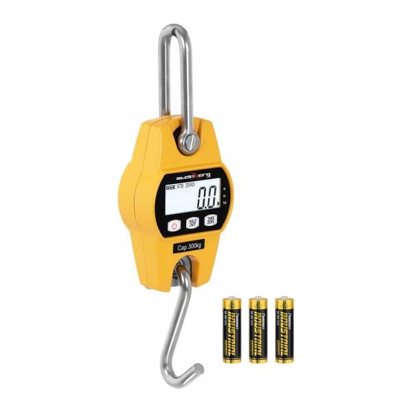 B-zboží Jeřábová váha - 300 kg/100 g - LCD - žlutá