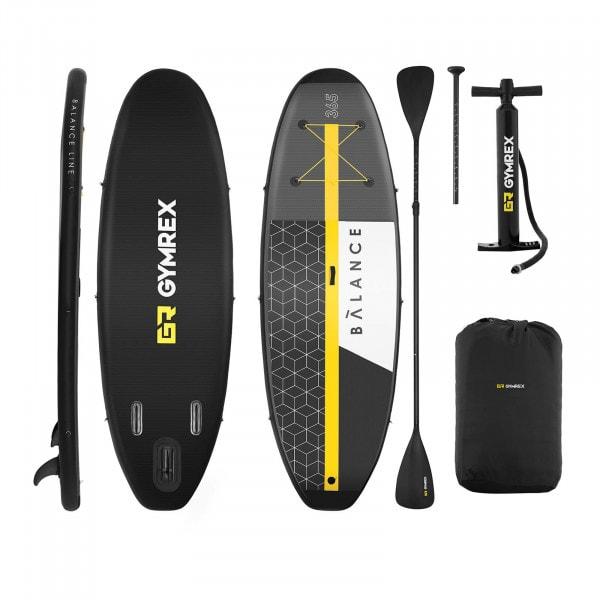 B-zboží Nafukovací stand up paddleboard - sada - 230 kg - 365 x 110 x 15 cm