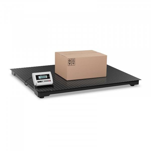 B-zboží Podlahová váha ECO - 5 000 kg / 2 kg - LCD