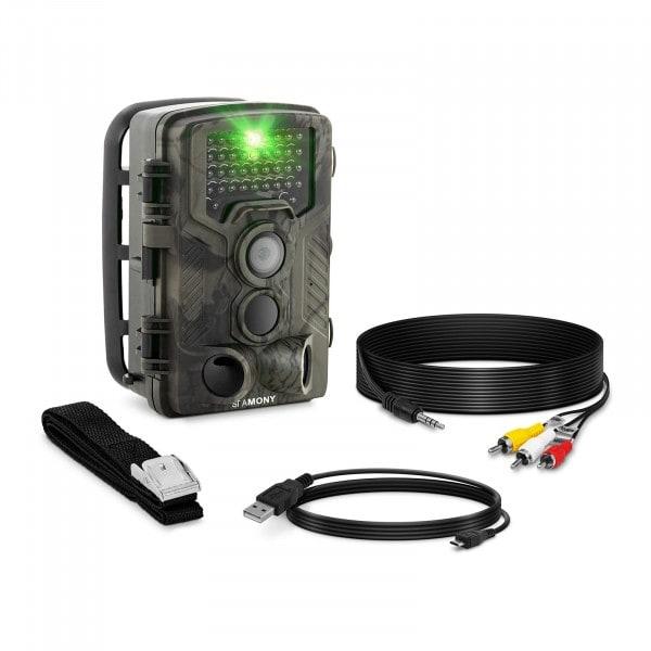 B-zboží Fotopast - 8 MP - Full HD - 42 infračervených LED diod - 20 m - 0,3 s