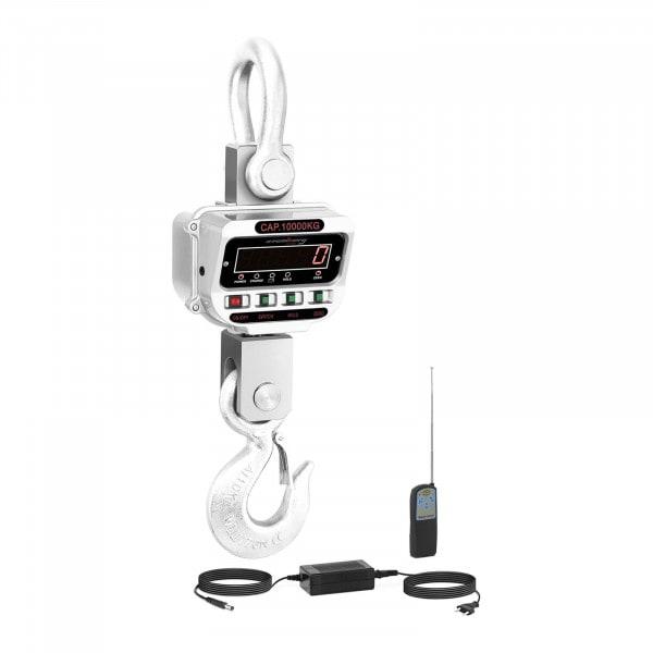 Jeřábová váha - 10 t / 2 kg - LED