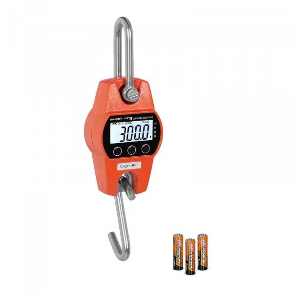 Jeřábová váha - 300 kg / 100 g - oranžová